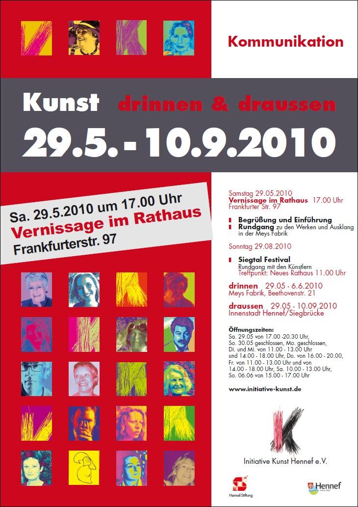 Plakat/Flyer Themenausstellung 2010