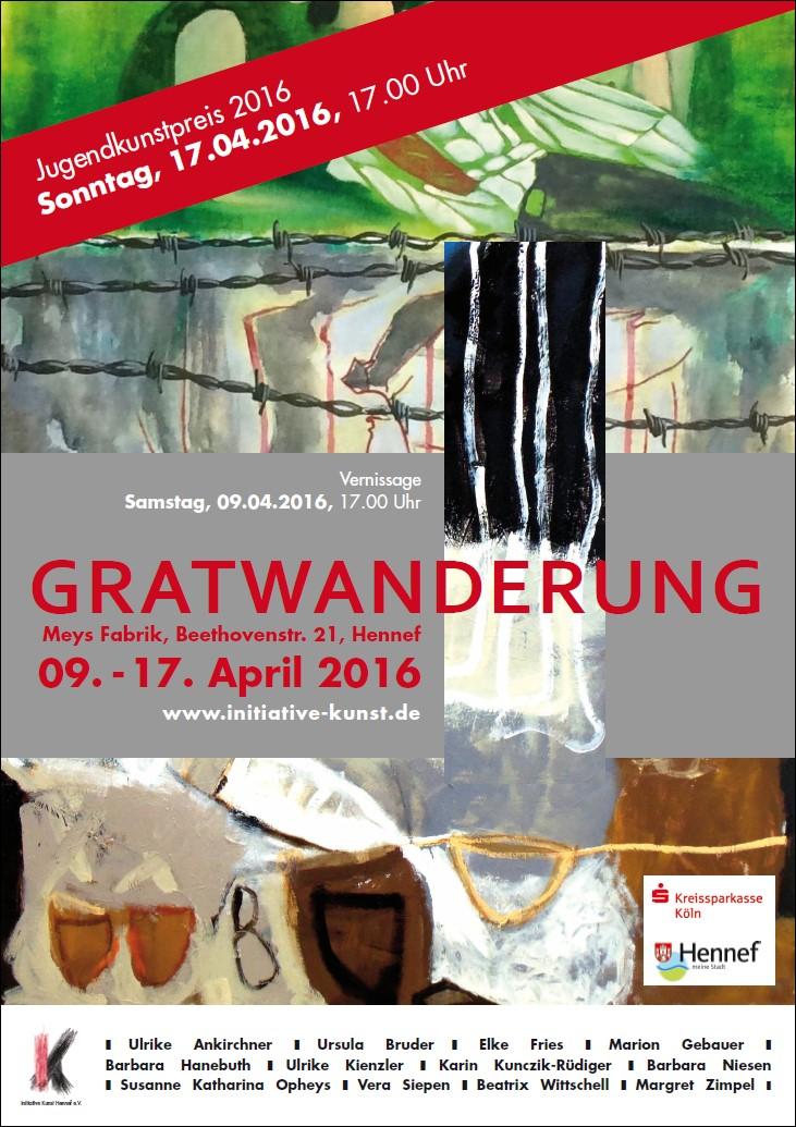 Plakat/Flyer Themenausstellung 2016